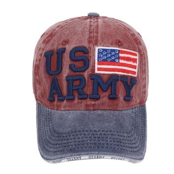 Baseball Cap Women Hats For Men US ARMY USA Flag Trucker Brand Snapback Caps MaLe Vintage Casquette Bone Dad Hat Cap