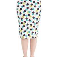 ModCloth 50s Pencil Endeavor a Dull Moment Skirt