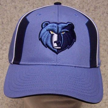 Embroidered Baseball Cap Sports NBA Memphis Grizzlies NEW 1 size fits all Light
