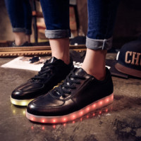 HoverKicks Luminous Light-up Black