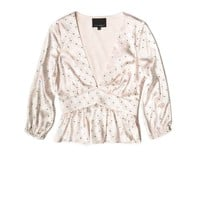 Cynthia Rowley - Tulip Charmeuse Top | Tops
