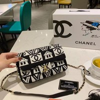 Ready Stock Fashion Double C Bag Reference #1058