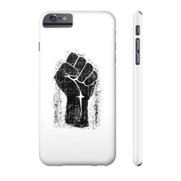 Grunge Style Solidarity Fist Phone Case