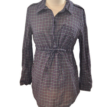 Plaid Collared Shirt by GAP