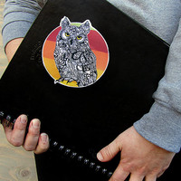 Decal Horned Owl - Waterproof Vinyl