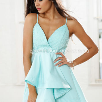 Kiss By You Lace Dress (Mint)