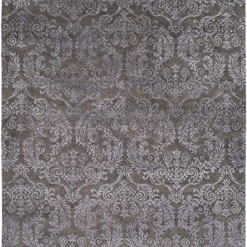 Surya Etienne Medallions and Damask Black ETI-9005 Area Rug