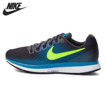 LMFON Original New Arrival 2017 NIKE AIR ZOOM PEGASUS 34 Men's Running Shoes Sneakers