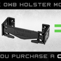 Paddle Holster - Award Winning OWB Paddle Holster | Alien Gear Holsters