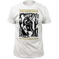 SIOUXSIE & THE BANSHEES SPELLBOUND MENS FITTED JERSEY TEE