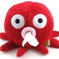 Home & Decor Home & Decor Cute Cartoon Octopus Tissue Paper Box Holder-red: Home & Kitchen
