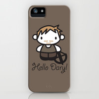 Hello Daryl iPhone & iPod Case by LookHUMAN