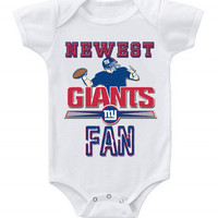 NEW Football Baby Bodysuits Creeper NFL New York Giants #2
