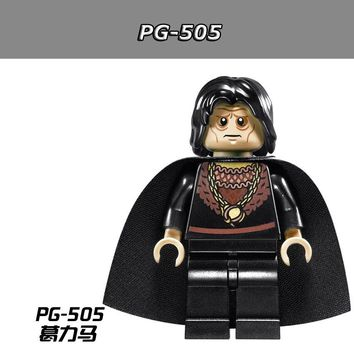 50pcs/lot PG505 The Lord of the Rings Hobbit Grima Wormtongue Aragorn  Building Blocks Brick Toys