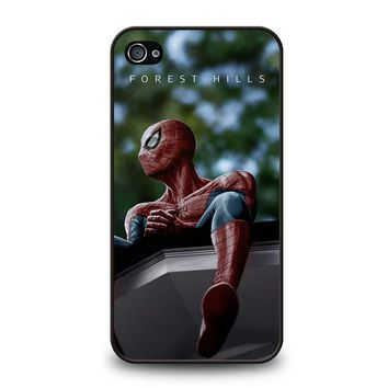 SPIDERMAN J. COLE FOREST HILLS iPhone 4 / 4S Case Cover