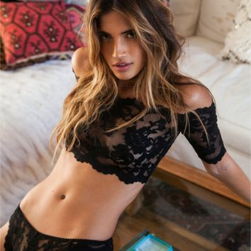 Sexy lace lingerie Pyjamas Set