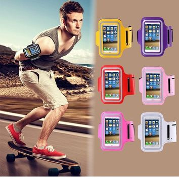 5.5 '' Mobile Phone Universal For iphone 6 7 Plus case at hand GYM sports Arm band Case For iphone 6 Running phone holder