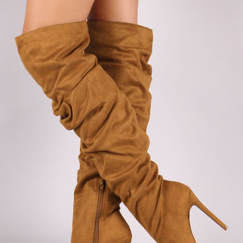 Pointy Toe Slouchy Stiletto Boot | UrbanOG
