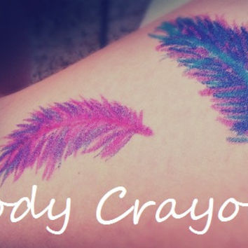 Body Crayons - DIY Temporary Tattoos - Single Crayon Color