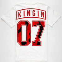 Last Kings Wave Mens T-Shirt White  In Sizes