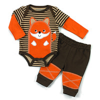 Baby Boy (3-9M) Buster Brown 2 Piece Fox Set | Boscov's