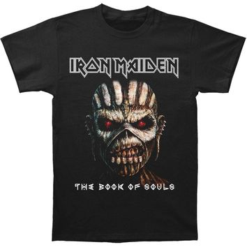 Iron Maiden Men's  Book Of Souls Close Up T-shirt Black