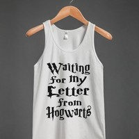 waiting for my letter to hogwarts tank top-JH - glamfoxx.com - Skreened T-shirts, Organic Shirts, Hoodies, Kids Tees, Baby One-Pieces and Tote Bags