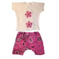 Baby Girls' Bandana Rama Shorts Set