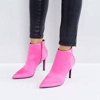 ASOS EMBERLY Point Ankle Boots at asos.com