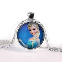 Disney Frozen Elsa Pendant Necklace