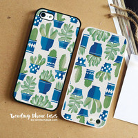 Cactus Pots  iPhone Case Cover for iPhone 6 6 Plus 5s 5 5c 4s 4 Case