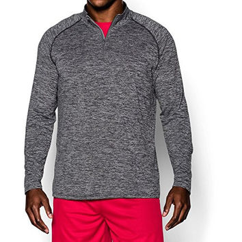 Under Armour Men's Tech 1/4 Zip, Graphite/Black, Large