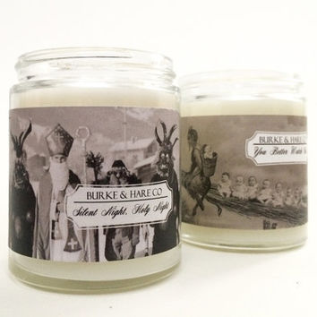 Krampus Candle  - Christmas - Scented Candle