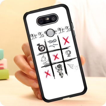 One Direction Louis Tomlinson Tattoos LG G5 Case Planetscase.com