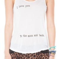 Brandy ♥ Melville |  I Love You To The Moon And Back