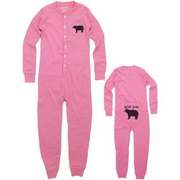 Chenier Bear Bum Union Suit
