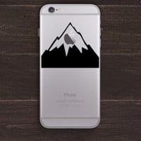Arrow through the Apple Vinyl iPhone Decal BAS-0230