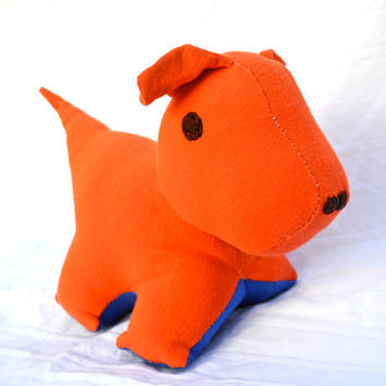 Recycled Dog Stuffed Animal Jessie by RopeSwingStudio on Etsy