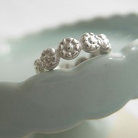 Sterling Silver Daisy Ring I Pick You