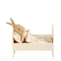 Maileg Baby Girl Rabbit and Cradle