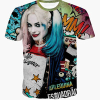 Hot Selling T shirts - Suicide Squad Harley Quinn