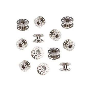 20pcs 20mm Diameter Domestic Sewing Machine Metal Bobbins for Brother /Singer /Toyota /Janome