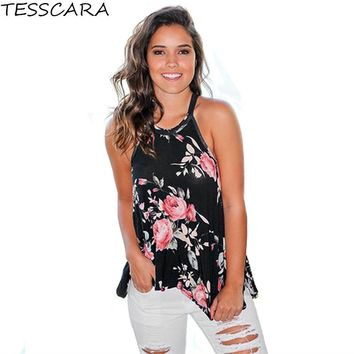 Women Sweet Casual Tank Top Female Summer Style Tops Tees T-shirt New Fashion Print T Shirt Camisoles & Tanks Plus Size S - 3XL