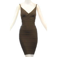 Early 1990s Herve Leger Couture Bandage Dress