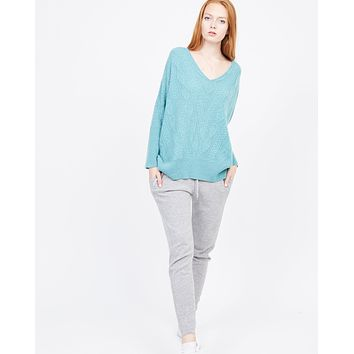 Kendall Cable Cashmere Sweater