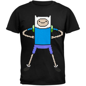 Adventure Time - 8-Bit Pixel Finn T-Shirt