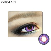 Unisex Big Eye Makeup Charming Colored Contact Lenses Beauty Cosmetic Tool