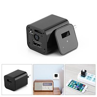 HD 1080P  USB Wall Charger Wireless Nanny Cam