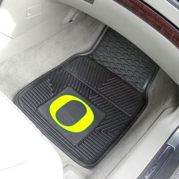 "Oregon 2-pc Vinyl Car Mats 17""x27"""