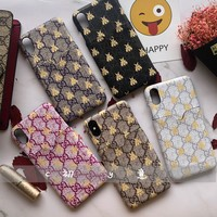 GUCCI GG Bee iPhone case